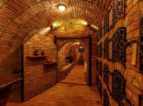 Degustační prostory pod zemí